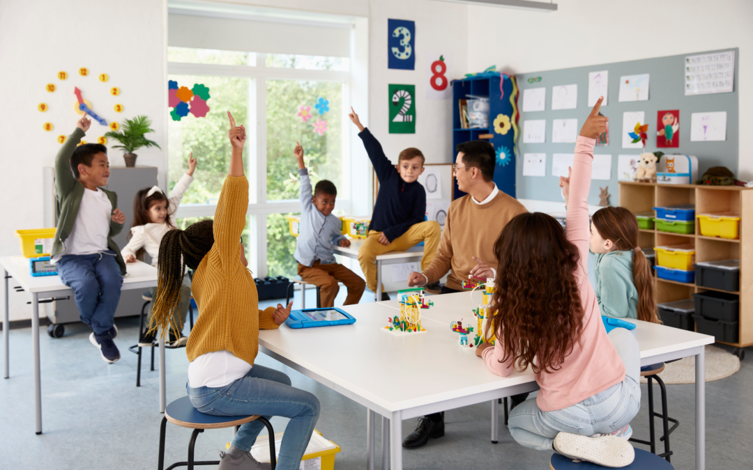 Το LEGO® Education SPIKE™ Essential διευρύνει το παιχνιδιάρικο και πρακτικής μάθησης portfolio